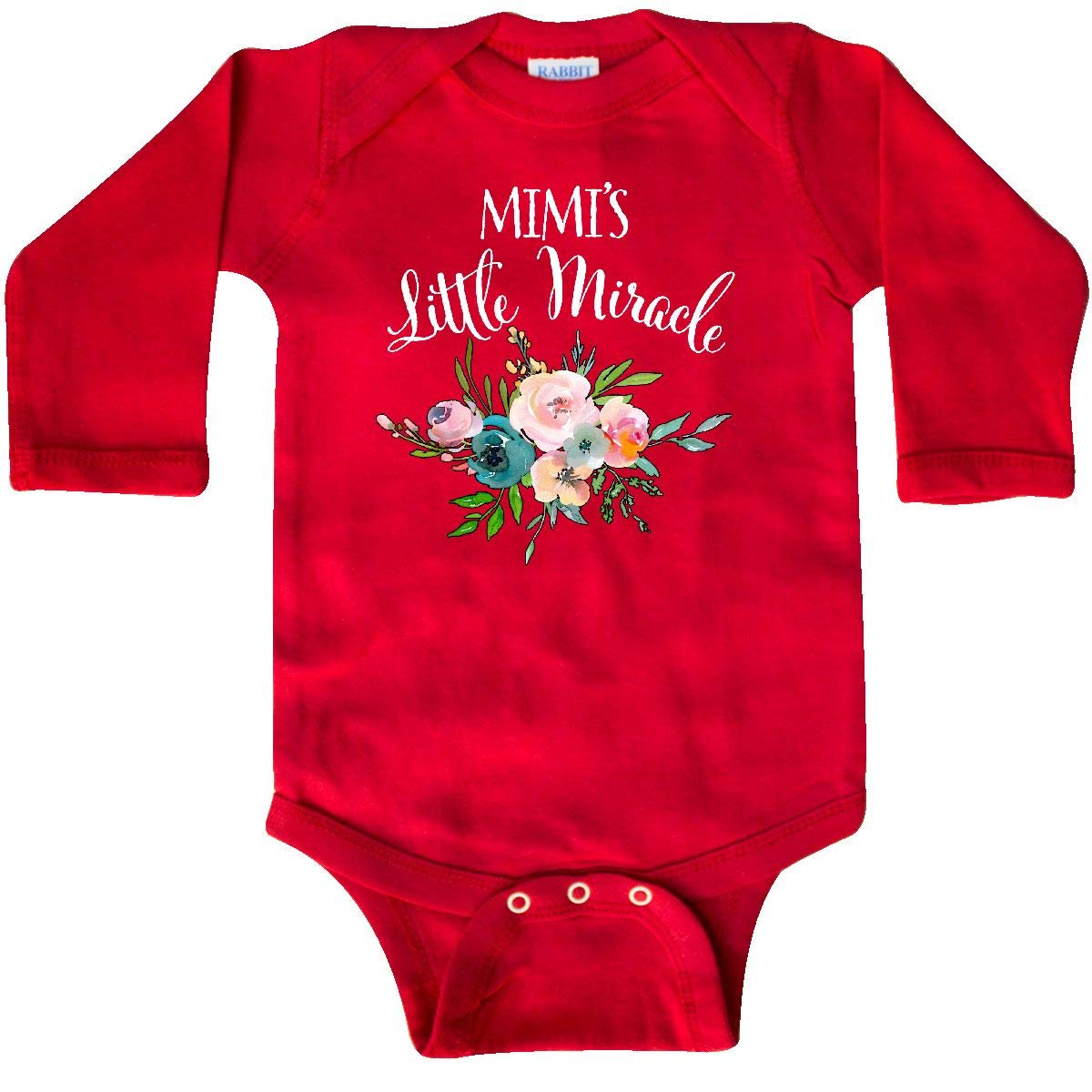 inktastic Mimis Little Miracle Baby T-Shirt