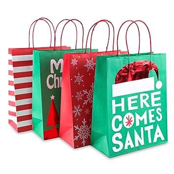 RGTR72 - 24 Bolsas Estampado navideño para Manualidades ...