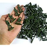 Green Toy Soldier Army Action Figures - Assorted -144 Pack Deluxe - For Children, Boys, Girls, GI Joes, Parties, Gifts, Party Favors - Kidsco