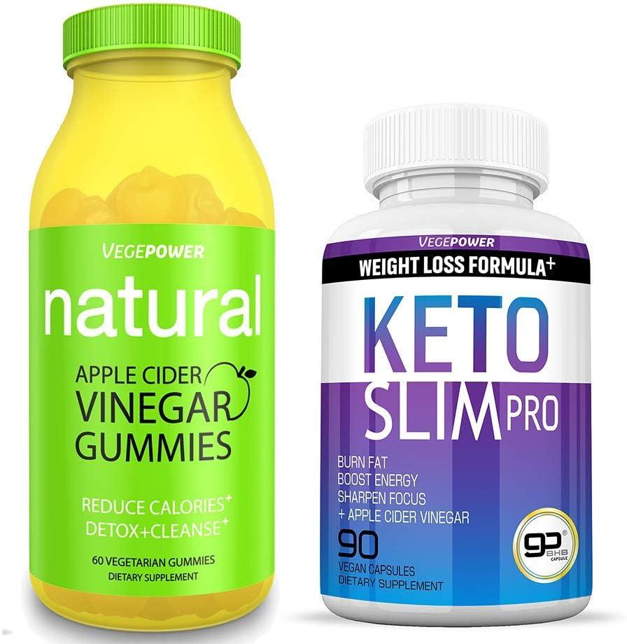 Slim Body Gift-Keto Slim Diet Pills & Apple Cider Vinegar Gummies