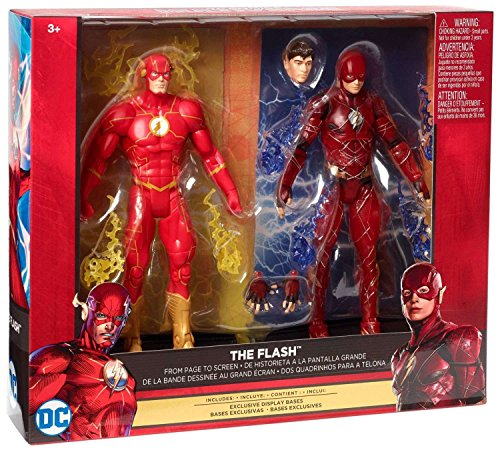DC Comics Multiverse FLASH Action Figure SET OF 2