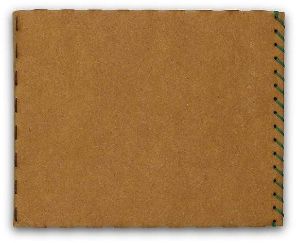 Billetera Carteras Monedero para hombre, billetera-tarjetero – papel, delgado, minimalista, vegano, moderno – color canela – hecho por BERLIN slim