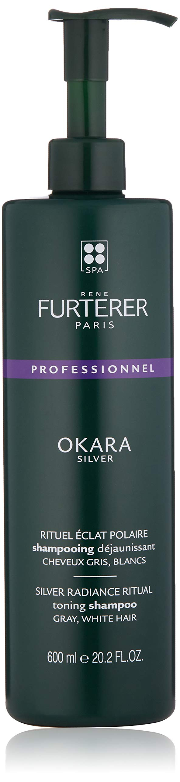 Rene Furterer Okara Silver Toning Shampoo for Gray, White Hair, 20.2 Fl. Oz. by Rene Furterer