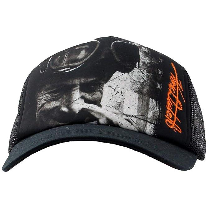 d792bae19a1c8 Von Dutch Mens Snapback Trucker Hat Casual Hats Black at Amazon ...