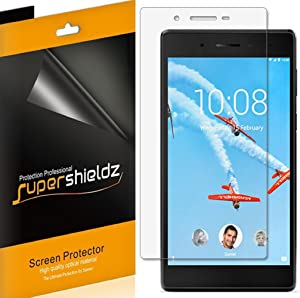 (3 Pack) Supershieldz for Lenovo Tab 7 Screen Protector, High Definition Clear Shield (PET)