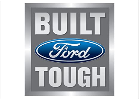 Built Ford Tough >> Amazon Com Built Ford Tough Auto Logo Traditional Flag Outdoor
