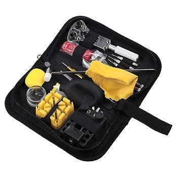 Kit de reparación de relojes Kit de herramientas de reparación de ...