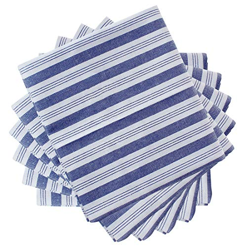 """uxcell 6 Pack Cotton Dish Towels 24"""" x 16"""", Machine Washable"""