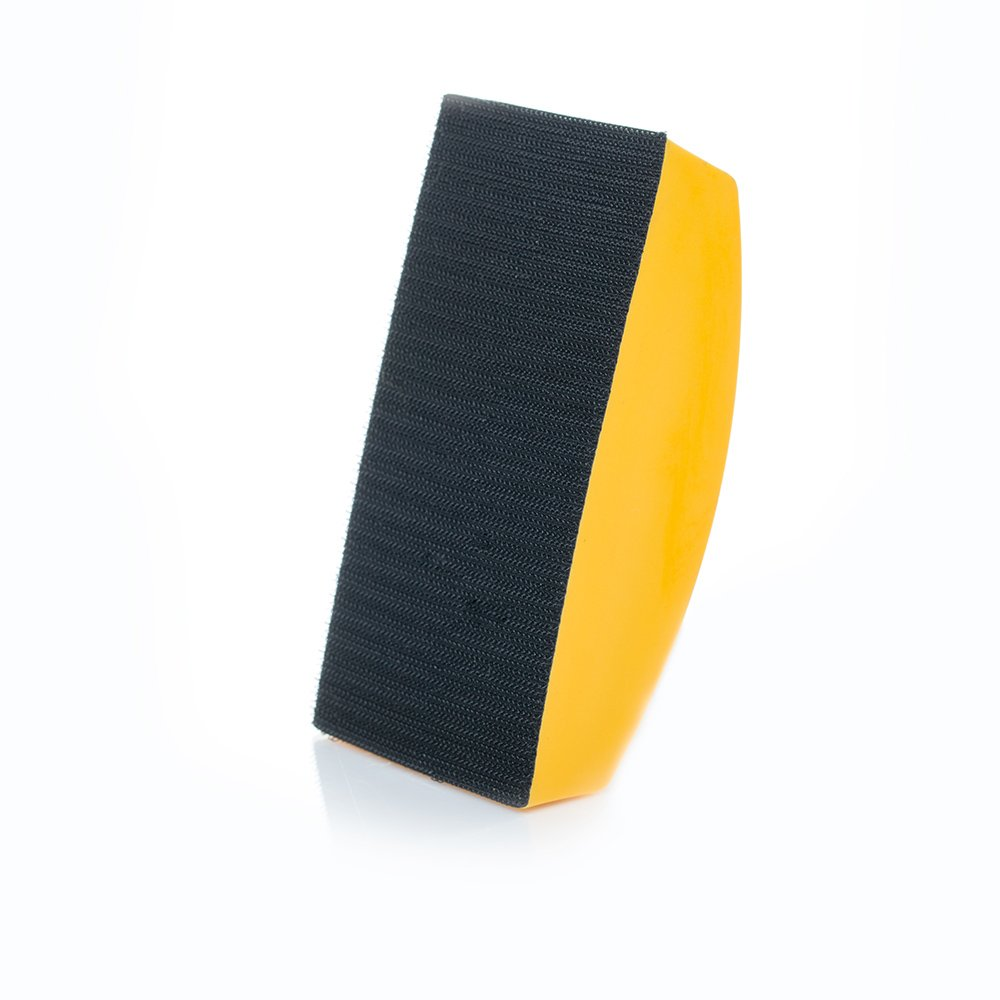 Hook and Loop Sanding Block Soft Density Sanding Hand Pad 130x70mm