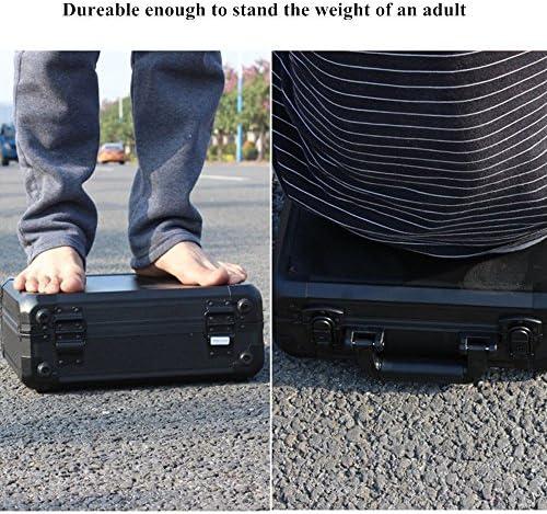 Valise for DJI Mavic Pro Sac à dos Carrying Case Waterproof Hard-shell Box Anti-Shock Suitcase Black by Crazepony-UK