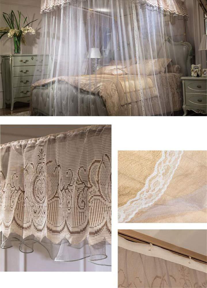 U-Guide Mosquito net Princess Style Mosquito net encryption Thickening Mosquito net Children's Mosquito net Bedding, Light Brown, 180220cm by RFVBNM Mosquito net (Image #5)