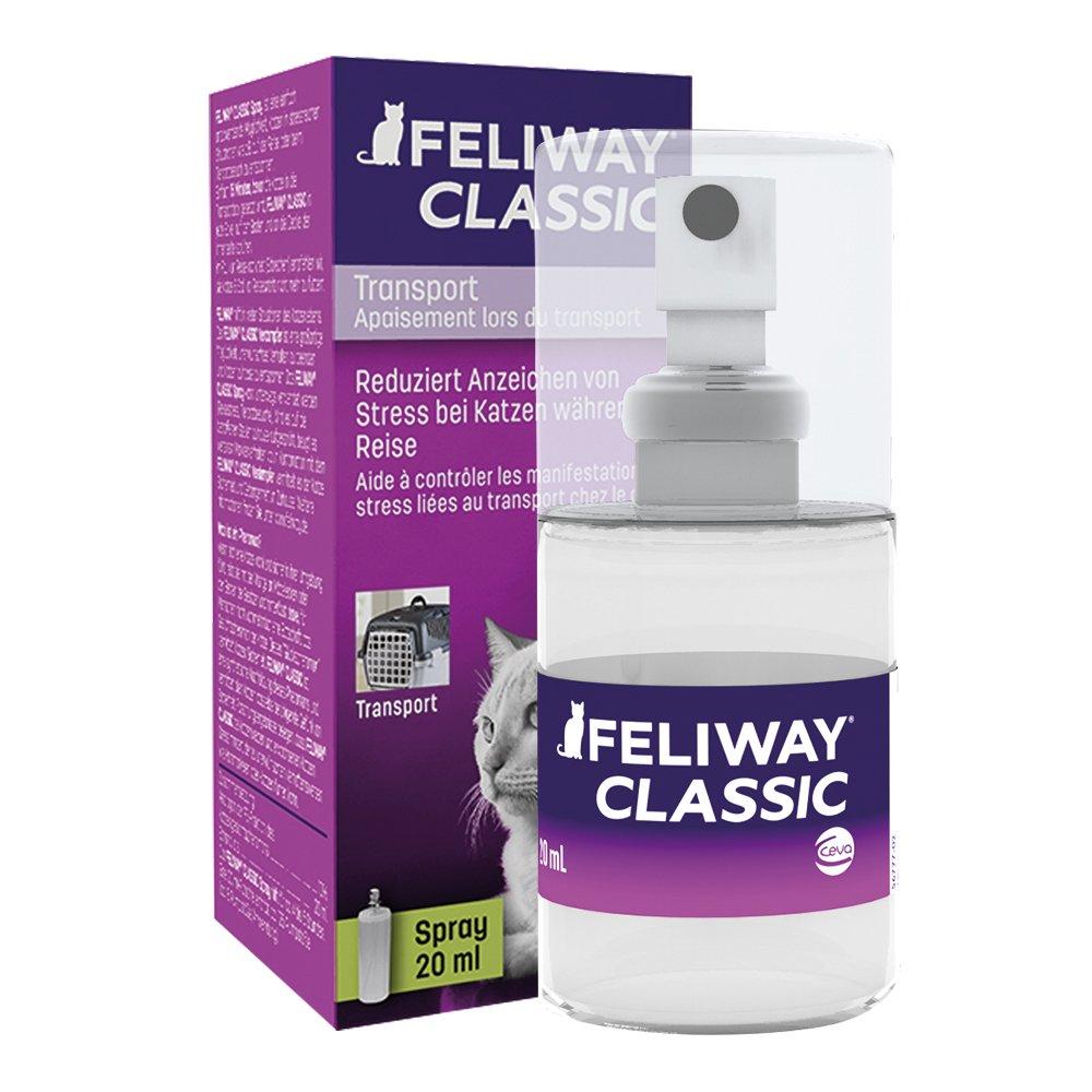 Feliway SPRAY 20 ML anti-stress pour le transport du chat/CEVA 281080Q