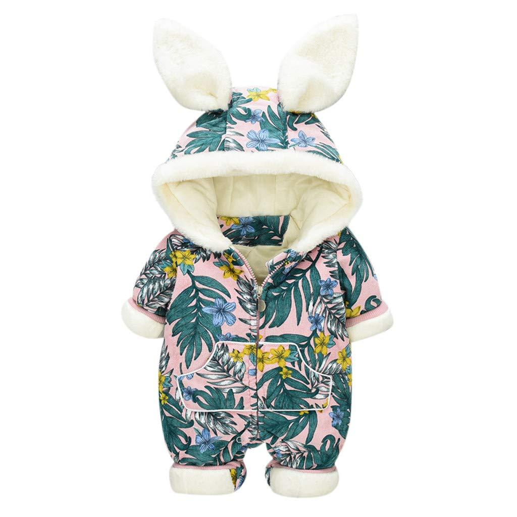 fiosoji Ensembles Floral Ruffle Bear Combi-Short Combi-Pantalon Tenue Combi Barboteuses Combinaison B/éb/é Barboteuse Pyjama B/éb/é Fille Gar/çon