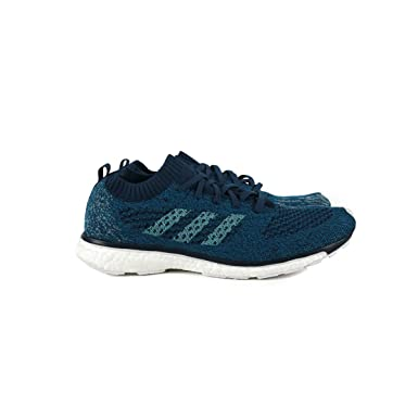 adidas Adizero Prime Parley Shoe - Unisex Running 7 Blue Night Energy Aqua 8b4647601