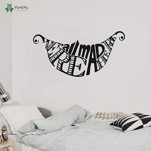Tatuajes de pared Alicia en el país de las maravillas Etiqueta de ...