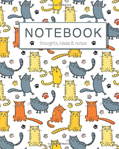 Read Online Notebook, Thoughts, Ideas and Notes: Cat Cover Notebook, 100 Lined Pages, Notes, Journal, Jotter, Notepad pdf epub
