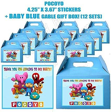 Amazon.com: Pocoyo Elefante Boy Video Game Party Favor Boxes ...