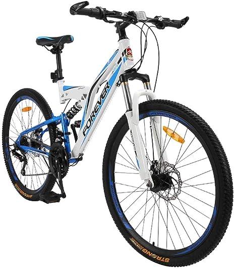 WZB Bicicleta de montaña Plegable 26