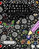 coeurs fleurs et papillons livre anti stress de coloriage coloriage est compliqu french edition