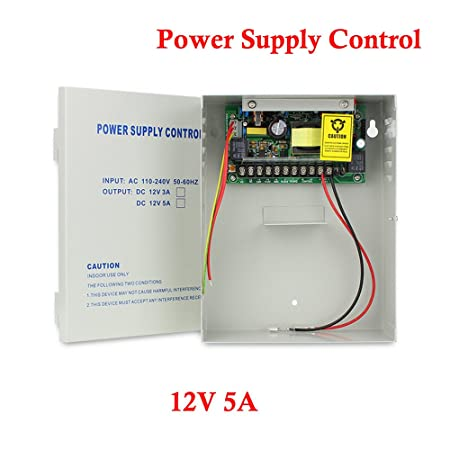 Prly Wired Electrical Panel | Amazon Com Yuhan Power Supply Control For Door Access Entry System