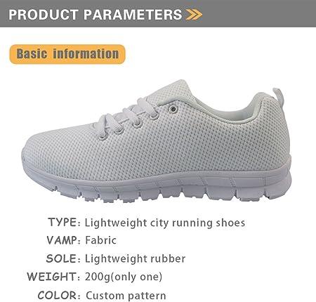 Coloranimal - Zapatillas de enfermera para mujer, para correr, caminar, primavera, verano