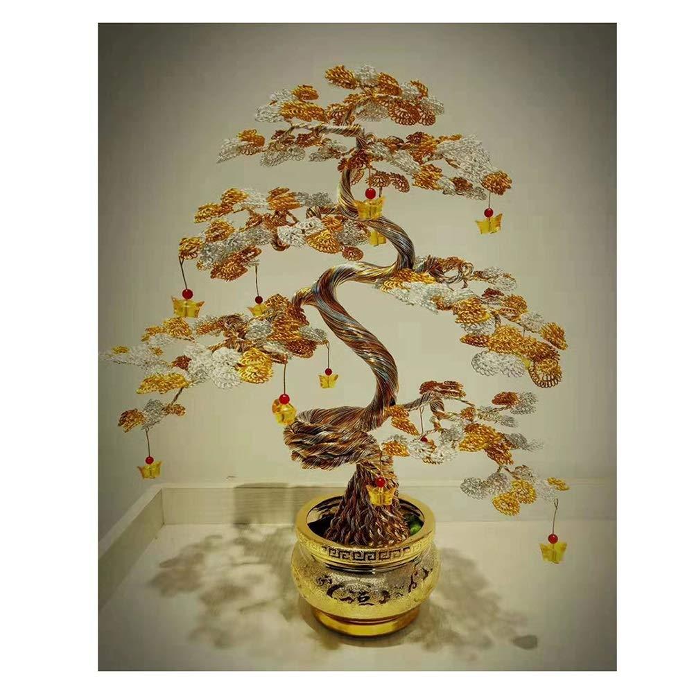 Árbol Decorativo de la Suerte Adornos Decorativos Bonsai ...