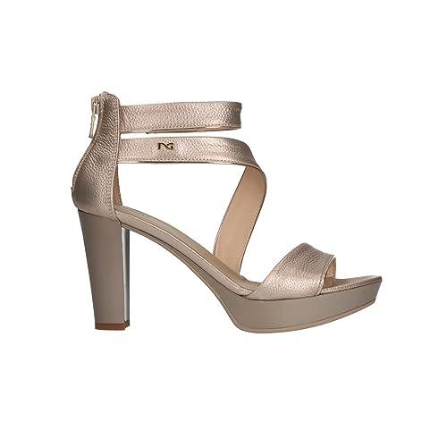 NERO GIARDINI Sandali scarpe donna nut 5600 mod. P805600D
