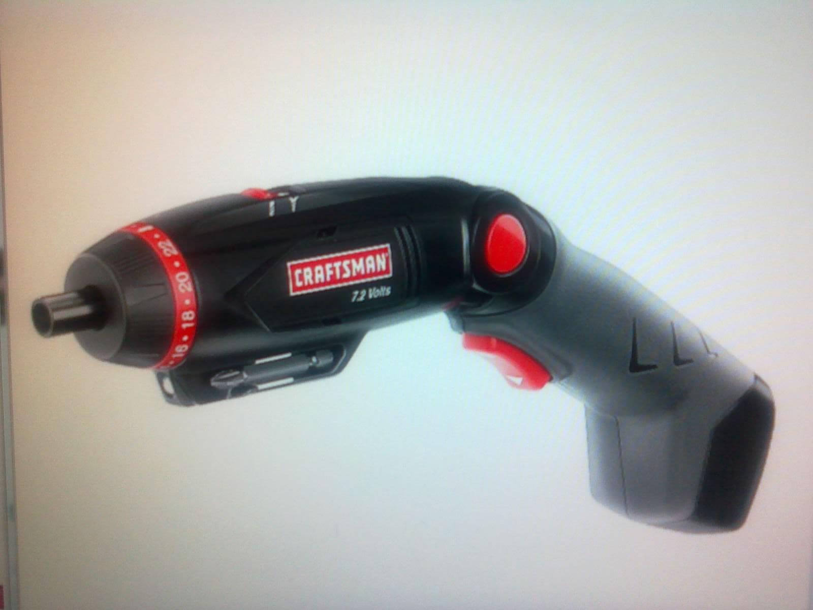 Craftsman 7.2 Volt Cordless Screwdriver