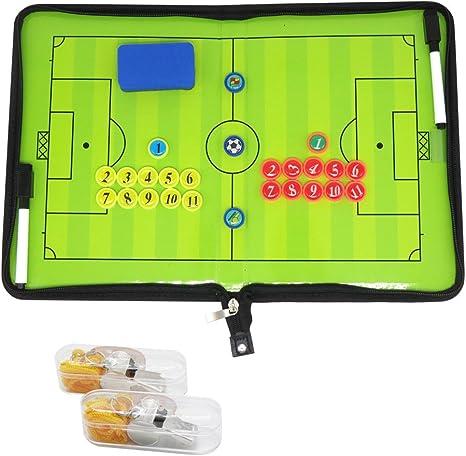 Carpeta para entrenador profesional de fútbol con tácticas, imanes ...