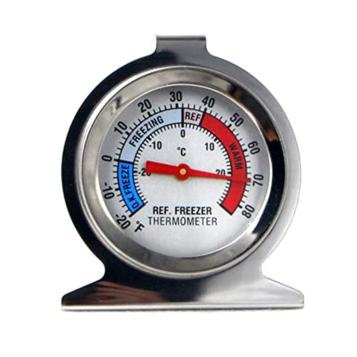 YSoutstripdu termómetro para refrigerador, congelador, frigorífico ...