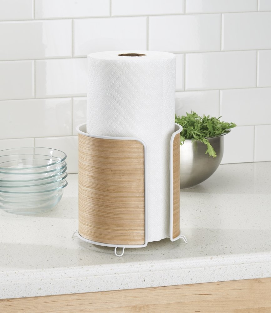 18 Best Paper Towel Holders: Unique, Fancy, Minimalist, Wooden ...