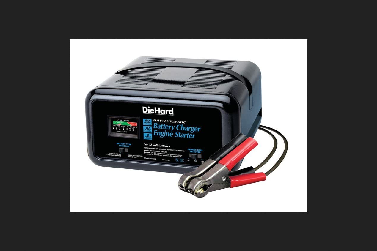 FREE Flashlight+Spark-proof 10//2//50 Amp 12V Battery Charger Jump Engine Car//Boat