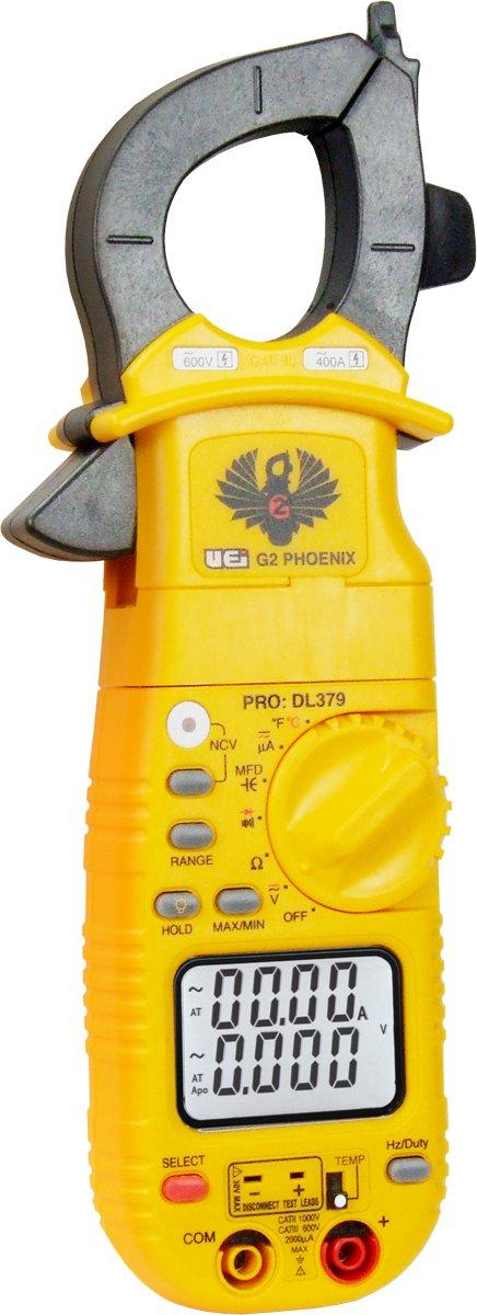 UEi Test Instruments Test Equipment DL379 HVAC/R Digital Clamp-On Meter