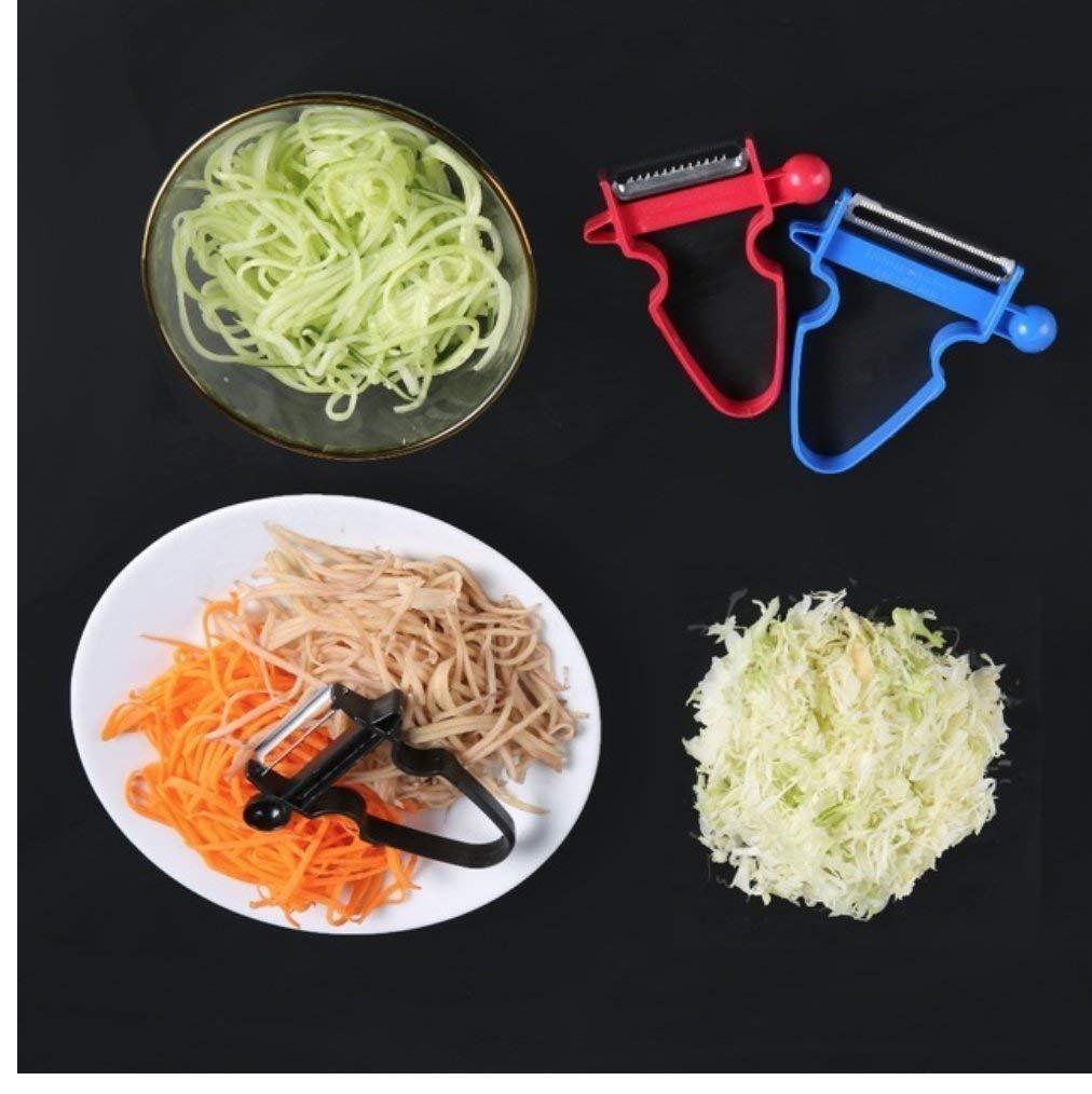Godea manuale a spirale a vite affettatrice patate carota cetriolo verdure spirale coltello da cucina strumenti 3pc