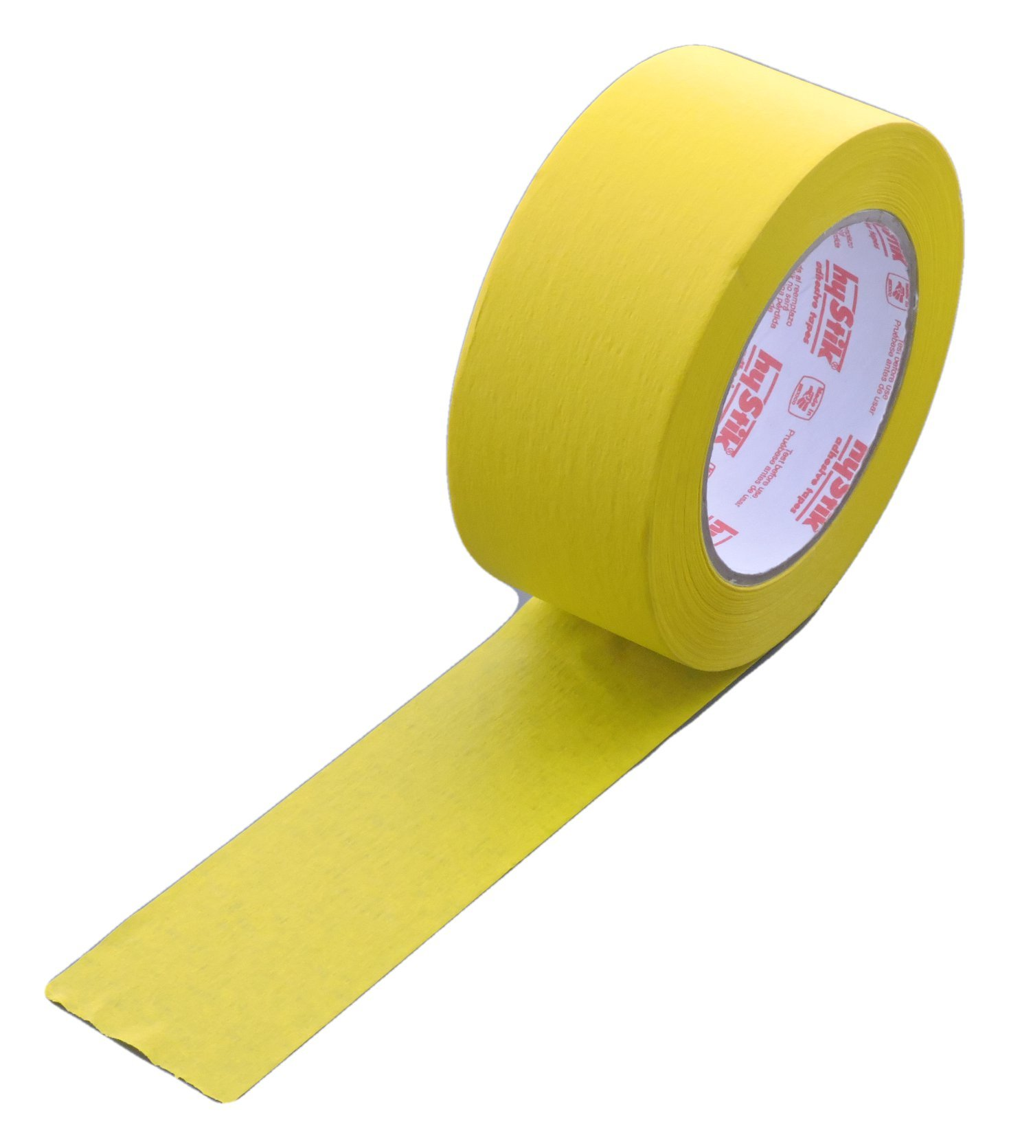 2'' in x 60yd Yellow Masking Tape Extra Sticky PRO Grade High Stick Special Project Painters Tape Painting Trim Arts Crafts School Home Office 21 Days 48MM x 55M 1.88 inch