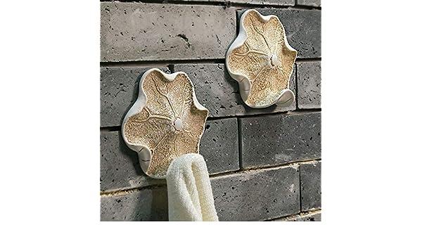LHbox Tap Ganchos de Baño Baño Dormitorio Toallero de Pared Pared Ideas de decoración de Arte Salón, Gancho de Carga Verde - Blanco: Amazon.es: Hogar