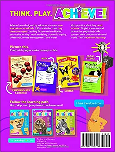Achieve! Grade 2: Think. Play. Achieve!: The Learning Company ...