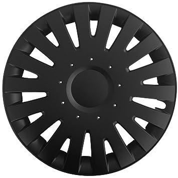 (tamaño a elegir) Tapacubos/Tapacubos Mala (Negro) apto para casi todos los tipos de vehículos (universal): Amazon.es: Coche y moto