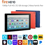 Certified Refurbished Fire HD 10 Tablet with Alexa Hands-Free