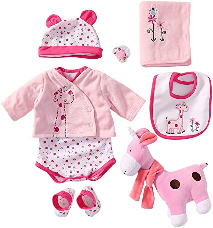 """Details about  /Reborn Baby Girl Clothing Clothes Sets For 20/'/' 22/"""" Not Included Doll /& Shoes @"""
