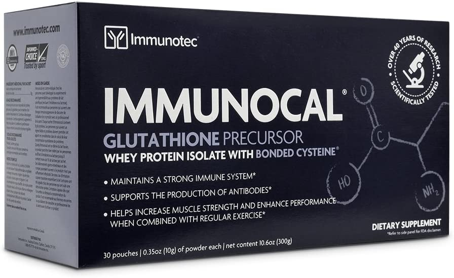 Immunocal box of 30 sachets Canadian Packaging Expres 2020