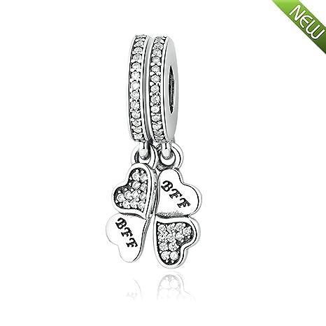 97ccd014f36146 PANDOCCI perline autunno per il braccialetto Pandora si adatta meglio amici per  sempre affascina con chiaro