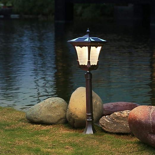 Luces de Jardín Solar,La luz LED para césped Solar para Exteriores Resistente al Agua se Enciende automáticamente por la Noche certificación 3C: Amazon.es: Jardín