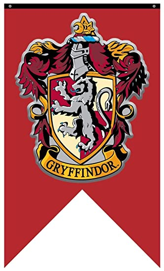 Harry Potter Gryffindor House Wall Banner