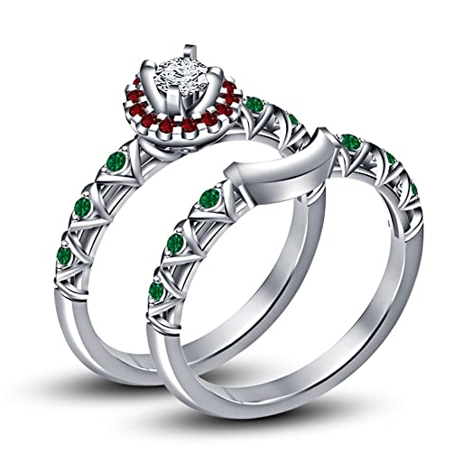 Amazon.com: Disney Princess Anna Ring Set in Platinum Plated On ...