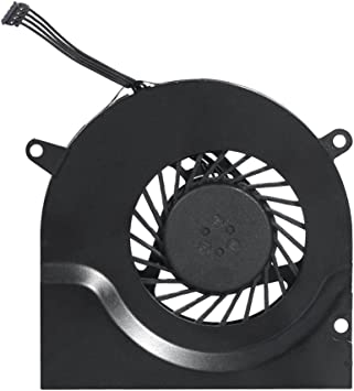 661-4951,661-4952, 922-8702,922-8703 Replacement for MacBook Pro 15 A1286 Right CPU Cooling Fan Willhom Left 2008, 2009, 2010, 2011, 2012