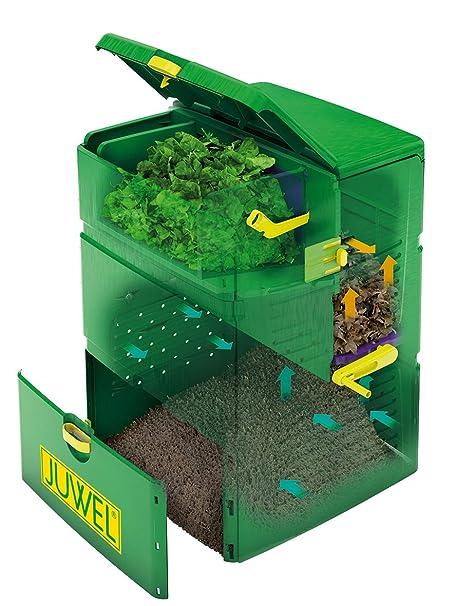Juwel compostador Aero Plus 6000, Verde, 79 x 79 x 110 cm ...