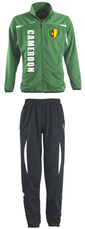 Kamerun Trainingsanzug - Sportanzug - S-XXL - Fußball Fitness