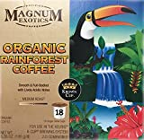 magnum coffee - Magnum Exotics Coffee K-cup (Keurig) #18 - Organi Rainforest Coffee