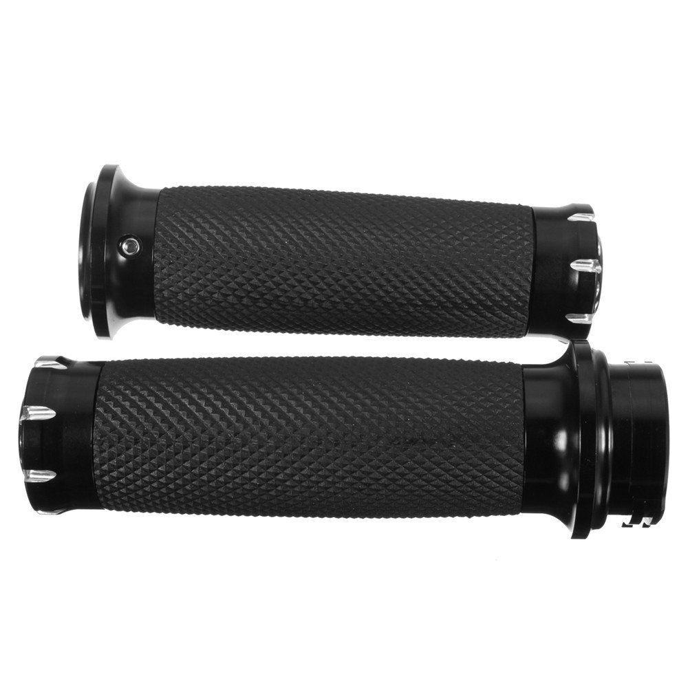 YONGYAO 125Mm Cnc Hand Grip Motorcycle Handlebar For Harley Touring Sportster Dyna Softail